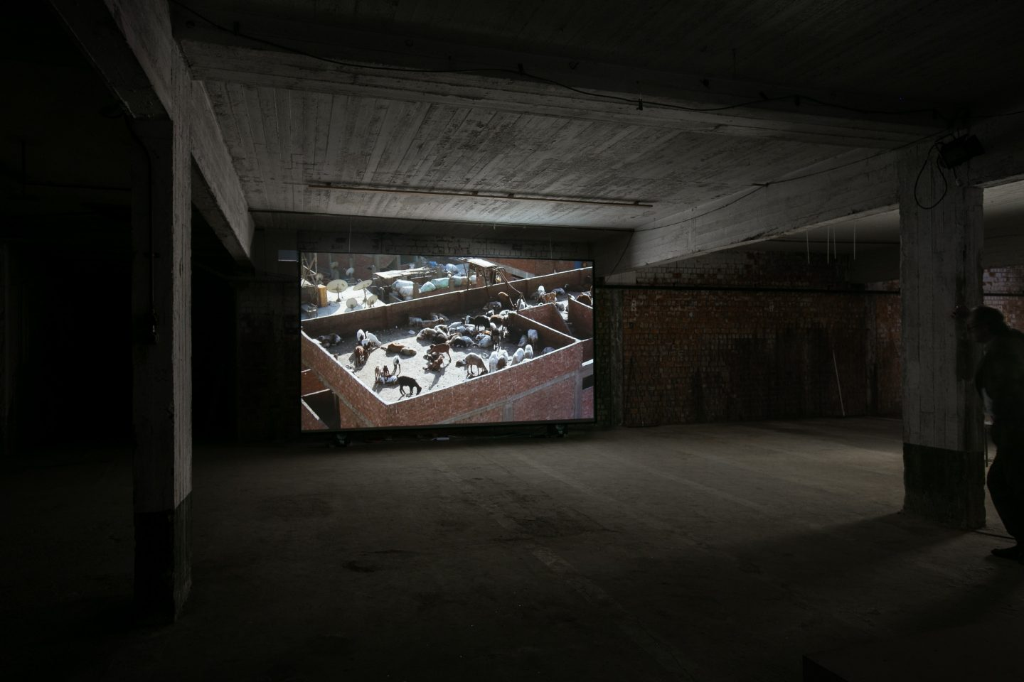 "installation view ""Garbage City"""